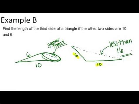 Triangle Inequality Theorem: Examples (Geometry Concepts