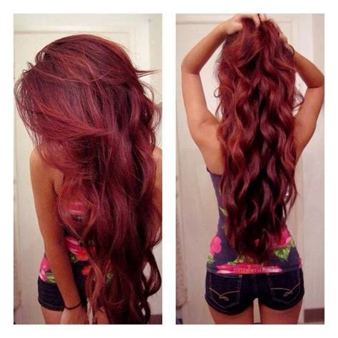 coloration cheveux rouge framboise