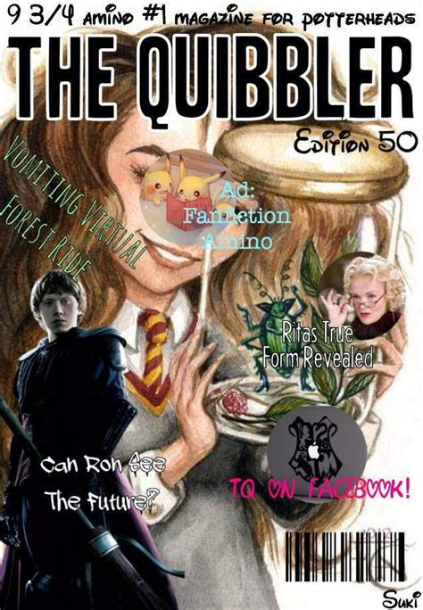 The Quibbler: Edition Fifty   Harry Potter Amino